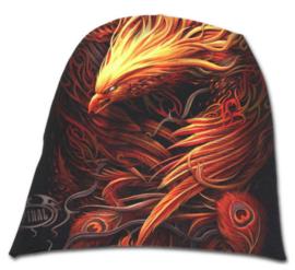 Spiral Direct - Phoenix Arisen - phoenixvogel - katoenen muts - beanie