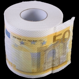WC Papier - 50 euros