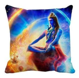 Kussenhoes Shiva regenboog - 45 x 45 cm