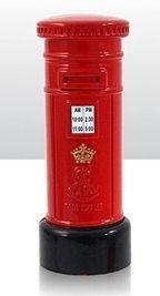 Puntenslijper Brits brievenbus - 9 cm hoog