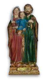 Holy family 14 cm high