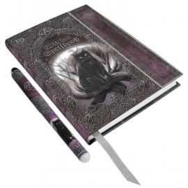 Witches Spell Book - A5 journaal met pen - GERESERVEERD NIET KOPEN
