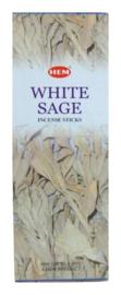 Witte Salie wierook stokjes - merk HEM