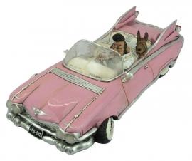 The King & Hound Dog (Pink Cadillac) 25.5cm lang