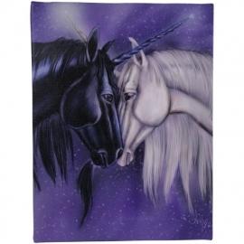 Twin Souls - wandbord van Ash Evans - 25 x 19 cm