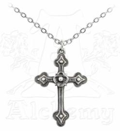 Alchemy Gothic nekketting - Gothic Devotion Cross