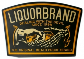 Sticker Liquor Brand - Dealing with the Devil