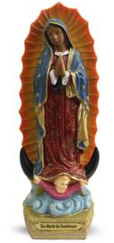 Maria van Guadaloupe - polystone beeld - 20 cm hoog