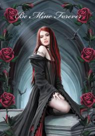 Be Mine Forever - Valentijnskaart Anne Stokes - 12.5 x 17 cm