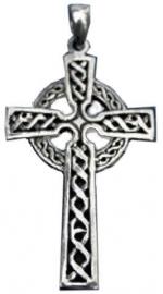 925 zilveren kettinghanger Keltisch Kruis - 5 x 2.5 cm