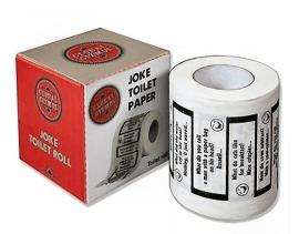 WC papier - Joke
