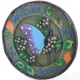 Stapsteen Welcome to my Garden - 20 cm