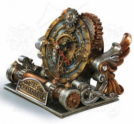 Alchemy of England - Time Chronambulator - Steampunk klok