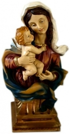 Virgin Mary with Child 20 cm