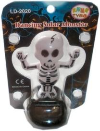 Dansend solar skelet 10 cm hoog