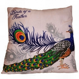 Cushion cover - peacock 3
