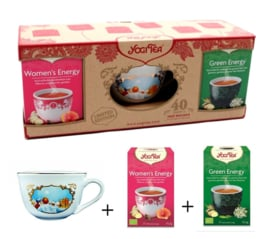 Yogi Tea Cup Bundle 3 - Women's Energy & Green Energy