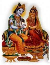 Sticker Krishna Radha 1