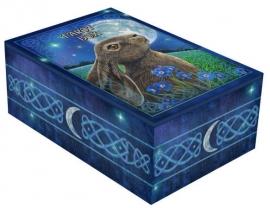 Tarotdoos - Moon Gazing Hare - dessin Lisa Parker