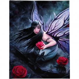 Rose Fairy - wandbord van Anne Stokes - 25 x 19 cm