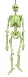 Hangend beeld Skeleton Glow - 21 cm hoog