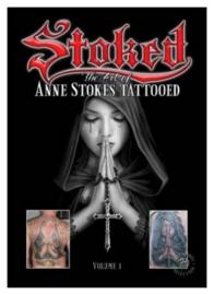 'Stoked' - boek Anne Stokes Tattoos - 30 x 18 x 2 cm