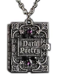 Restyle nekketting medaillion - Dark Poetry