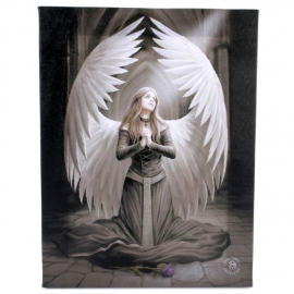 Prayer for the fallen - wall plaque by Anne Stokes - 25 x 19 cm
