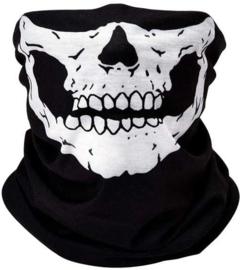 Masker Bandana Skull Zwartwit