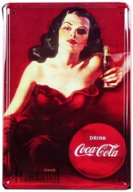 Tin sign Cola 1 20 x 30 cm