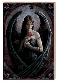 Kunsttegel van Anne Stokes - Angel Rose - 20 x 30 cm
