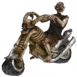 Zombie Hell Rider - zombie lijk op een motor - 20 cm lang