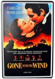 Tin sign Gone with the Wind 2 20 x 30 cm