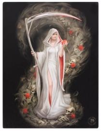 Life Blood - wandbord van Anne Stokes - 25 x 19 cm