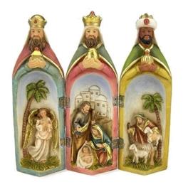Drieluik Heilige Familie hg 20 cm