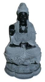Quan Yin Guanyin Kwan Yin hematiet 11 cm hoog