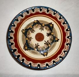 Marokkaanse bord bruin 2