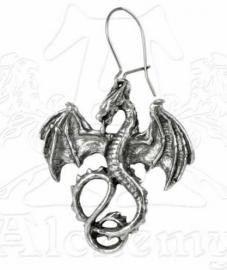 Alchemy Gothic oorbel - Wyverex
