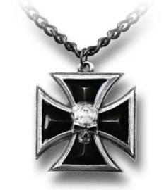 Alchemy Gothic nekketting - Black Knight's Cross