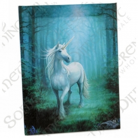 Forest Unicorn - wall plaque by Anne Stokes - 25 x 19 cm