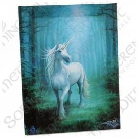 Forest Unicorn - wandbord van Anne Stokes - 25 x 19 cm
