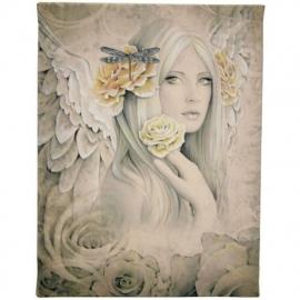 Summer Rose - wandbord van Jessica Galbreth - 25 x 19 cm