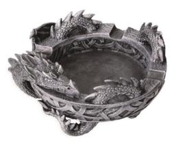 Asbak Keltisch Draak - 8 x 15 x 15 cm
