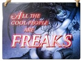 Emaille wandbord Alchemy - Freaks