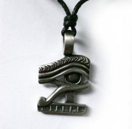 Pewter Egyptische Oog van Horus