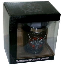 Baphomet Shot-glas - 7 cm hoog