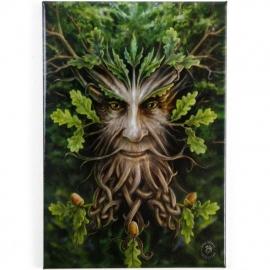 Oak King - koelkastmagneet van Anne Stokes