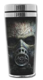 Spiral Direct - Bio Skull - Zombie Doodskop - thermo reisbeker - 18 x 7.5 cm