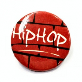 Retro button Hip Hop