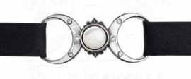 Alchemy Gothic choker / armband - Triple Goddess